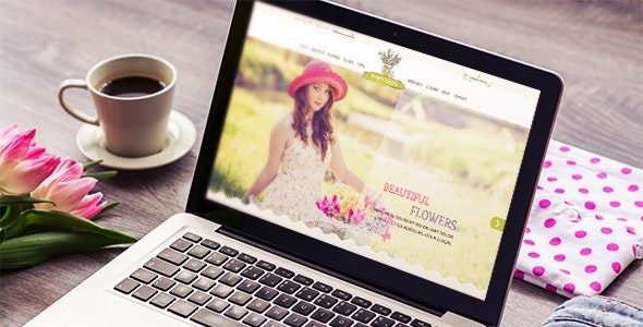 Flower Shop - Responsive & Mobile HTML Template - Shopping Retail