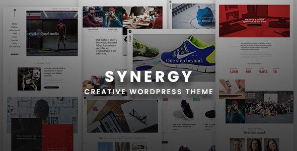 Synergy Creative - WordPress Responsive Theme - Creative WordPress