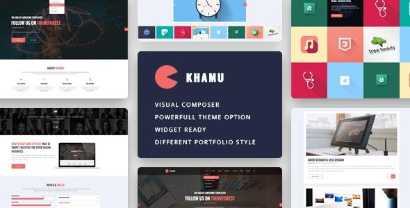 Khamu - Multipurpose Business WordPress Theme - Business Corporate