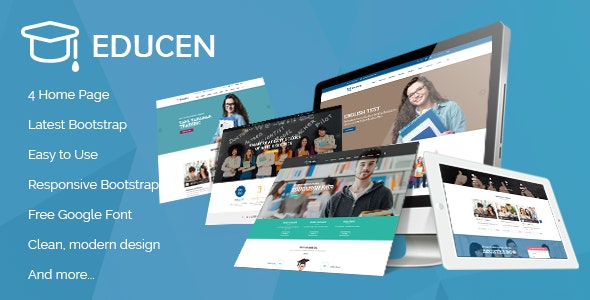 Educan - Education HTML Template - Nonprofit Site Templates