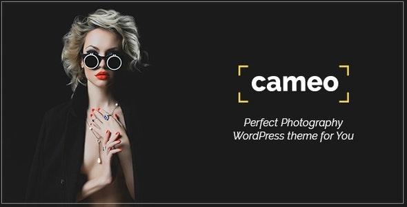 Cameo - Photography WordPress Theme - Photography Creative
