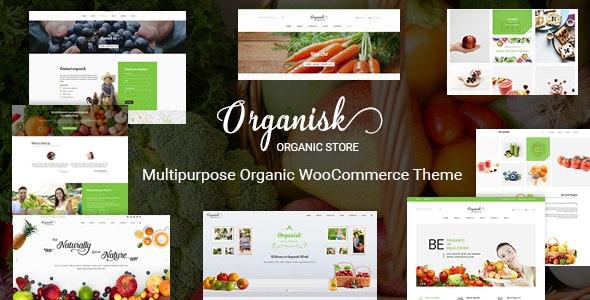 Organisk - Multipurpose Organic WooCommerce Theme - WooCommerce eCommerce
