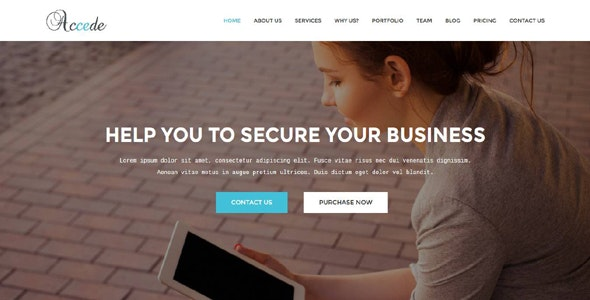 Accede - Business, Agency, Corporate, Consultancy Template - Technology Site Templates