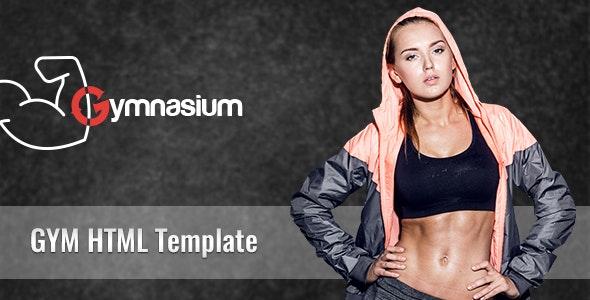 Gymnasium HTML Corporate Template - Site Templates