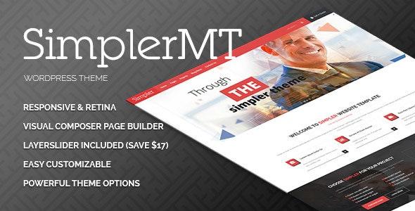Simpler - Corporate Multipurpose WordPress Theme - Business Corporate