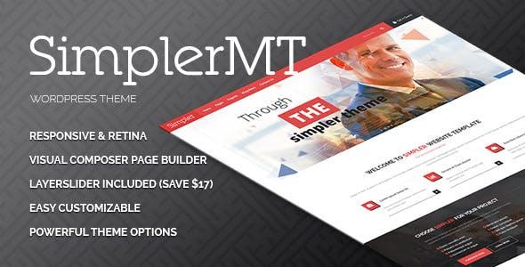 Simpler - Corporate Multipurpose WordPress Theme
