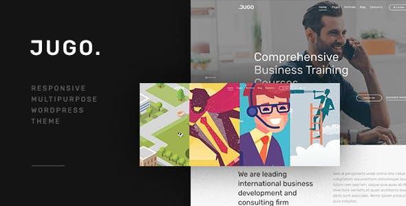 Jugo — Responsive Multipurpose WordPress Theme