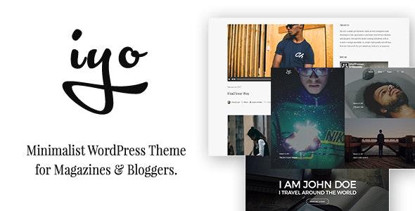 Iyo - Clean Blog & WooCommerce WordPress Theme - Blog / Magazine WordPress