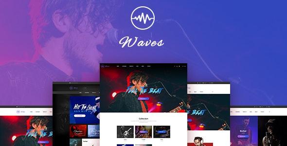Leo Waves PrestaShop Theme for Musical Instrument - PrestaShop eCommerce