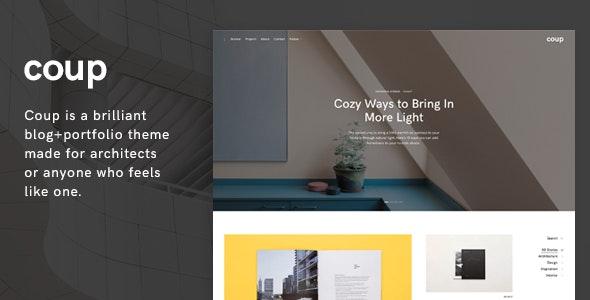 Coup - Portfolio WordPress Theme - Portfolio Creative
