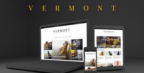 Vermont - WordPress Magazine and Blog Theme - News / Editorial Blog / Magazine