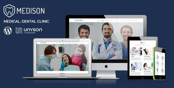 Medison - Medical, Dental Clinic WordPress Theme - Health & Beauty Retail