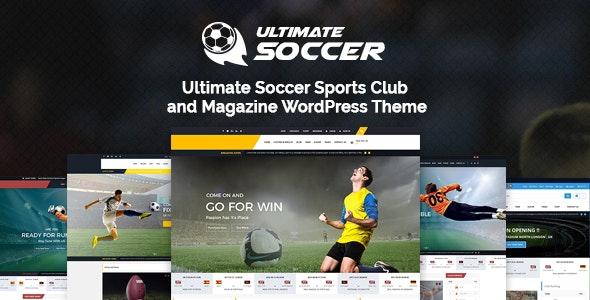 Ultimate Soccer News Magazine WordPress Theme - Sports Club - WordPress
