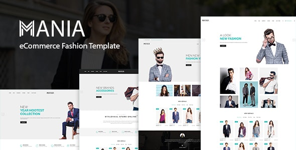 Mania - Fashion HTML Template - Fashion Retail