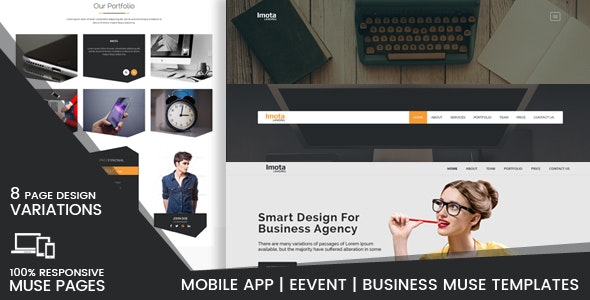 Imota-Creative Muse Landing Pages - Creative Muse Templates