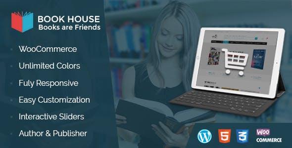 Book House WordPress - BookShop WP