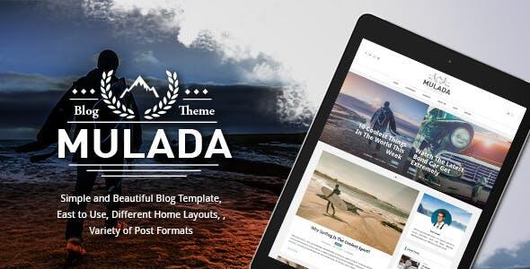Mulada - Ghost Theme for Bloggers (GloriaThemes)