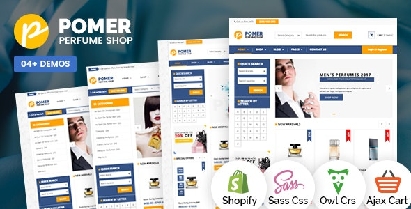 SP Pomer - Perfumes & Cosmetics Store Shopify Theme - Shopping Shopify