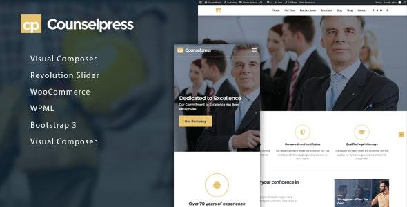CounselPress - Lawyers & Attorneys WordPress Theme - Business Corporate
