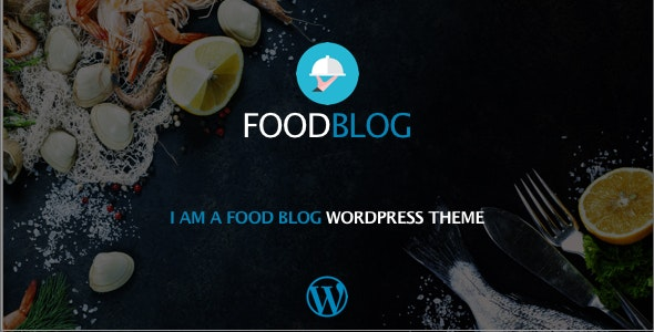 Food Blog Responsive WordPress Theme - Food Retail