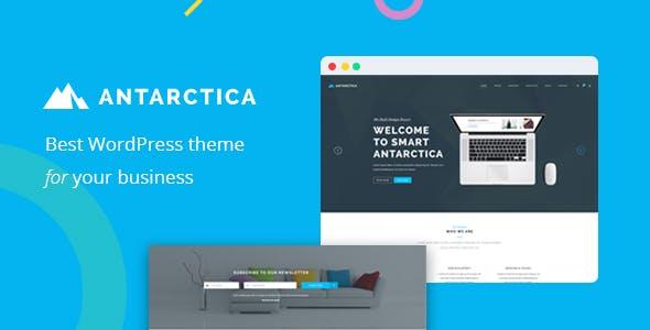 Antarctica - Business Portfolio WordPress Theme