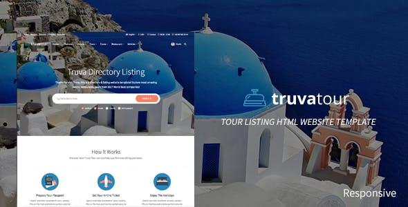 TruvaTour Responsive Travel Directory Listing Template