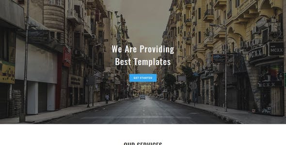 TREX - Multipurpose Responsive HTML Landing Pages