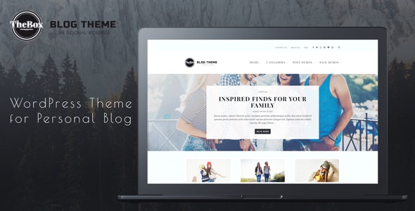 TheBox - WordPress Theme for Personal Blog - Personal Blog / Magazine
