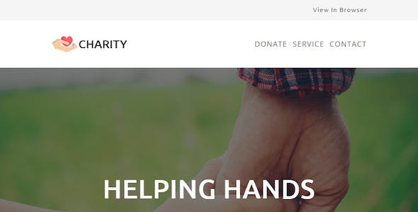 CHARITY - Responsive Email Template