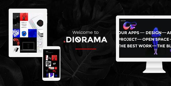 Diorama - Freelancer Portfolio & Agency Theme - Portfolio Creative