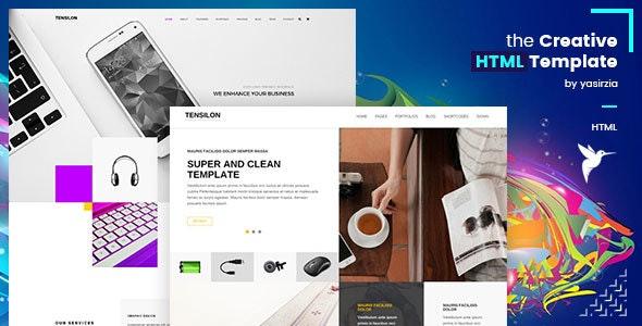 Tensilon | Multipurpose Html Template - Portfolio Creative
