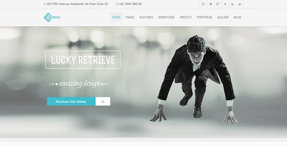 Retrieve | Responsive Multipurpose Joomla Template