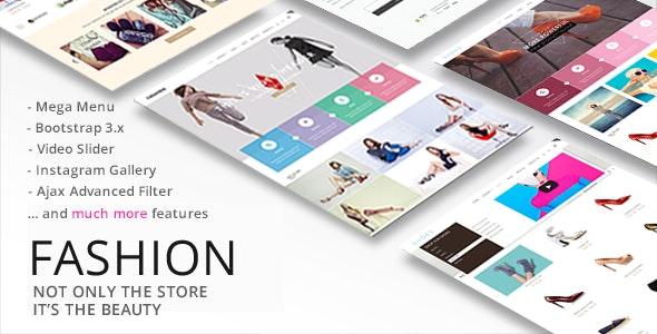 Fashion - Responsive Shopify Theme - Fashion Shopify