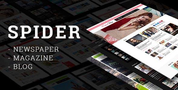 Spider - Newspaper, Magazine & Blog Theme