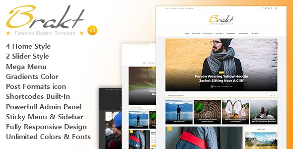 Free Downloads Blogger Templates from ThemeForest