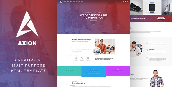 Axion - Multipurpose HTML Template - Business Corporate