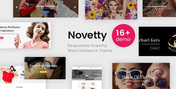Novetty - Responsive Powerful WooCommerce Theme - WooCommerce eCommerce