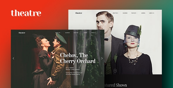 Theatre WP | Culture, Entertainment & Theater WordPress Theme - Entertainment WordPress