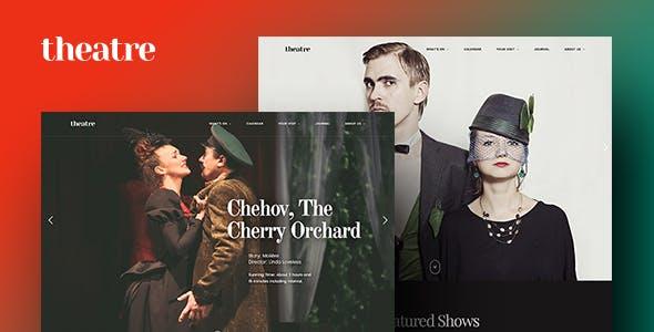 Theatre WP | Culture, Entertainment & Theater WordPress Theme