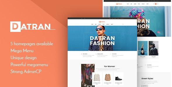 Datran - Responsive Multiple Prestashop 1.7.4.x Theme for Fashion | Menswear | Clothes - Fashion PrestaShop