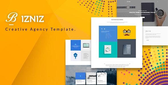 Bizniz – Corporate Business HTML Template - Business Corporate
