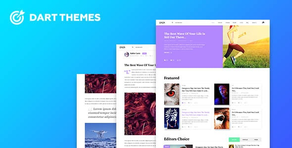 Magazine lite - PSD Template - Creative Photoshop