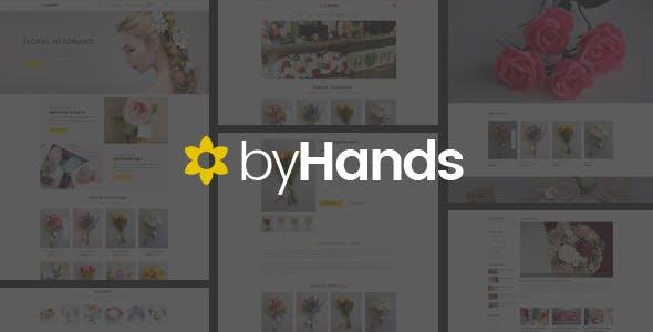 ByHands - Flower Store Virtuemart Template
