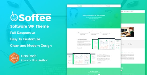 Softee - Multipurpose Software / SaaS Product Theme - Software Technology