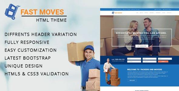 Mover - Company HTML Template