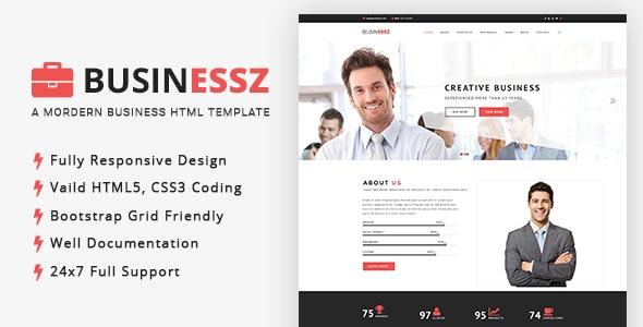 Businessz - Business, Corporate, Agencies HTML Template - Corporate Site Templates