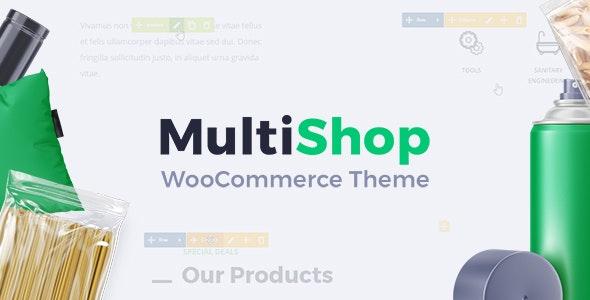 MultiShop - Universal WooCommerce Store Theme - WooCommerce eCommerce