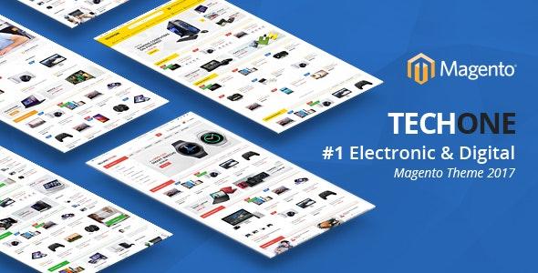 Techone - Responsive Magento 2 Theme - Magento eCommerce