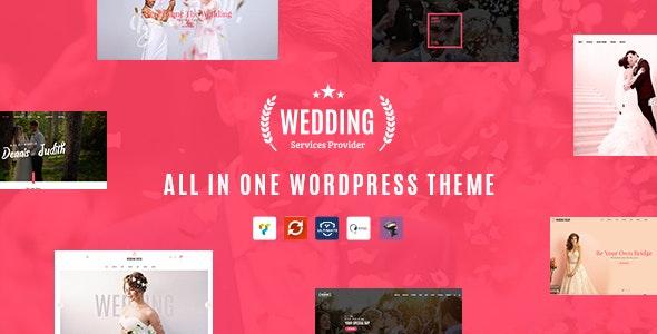 Wedding - All in One WordPress Theme - Wedding WordPress