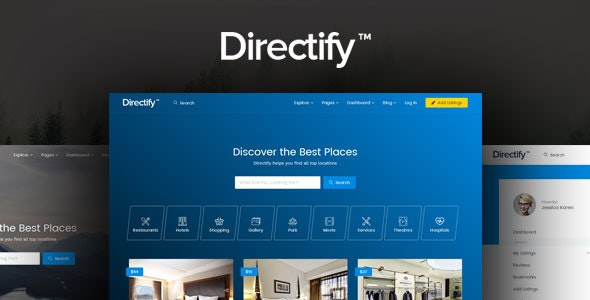 Directify | Directory HTML Template - Business Corporate
